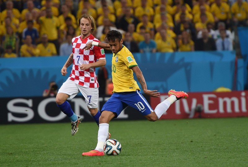 Neymar vs Croatia