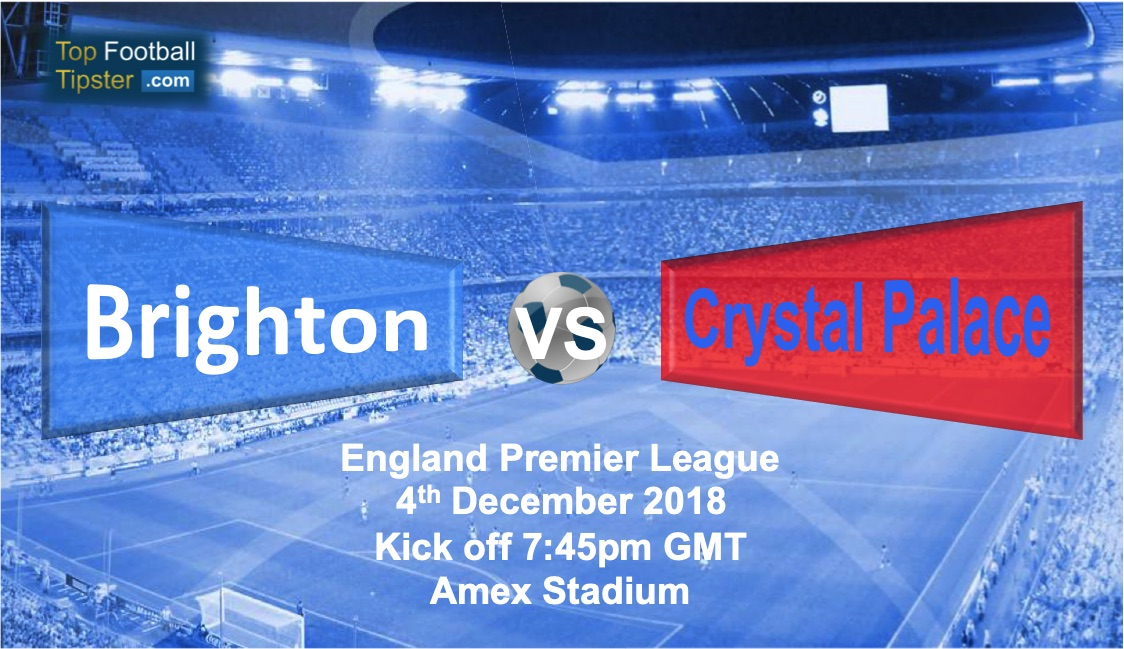 Brighton vs Crystal Palace: Preview and Prediction