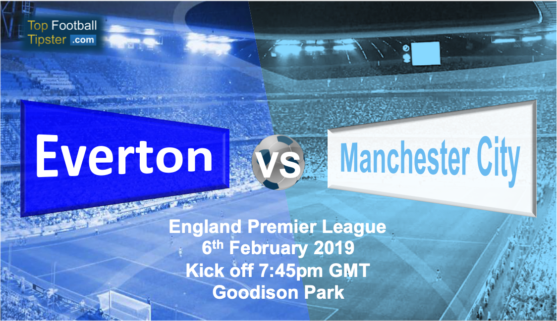 Everton vs Man City: Preview and Prediction