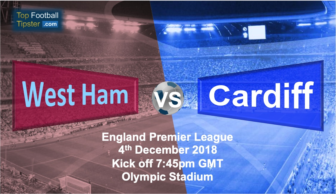 West Ham vs Cardiff: Preview and Prediction